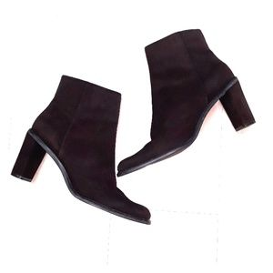 Nine West suede leather boots sz 9